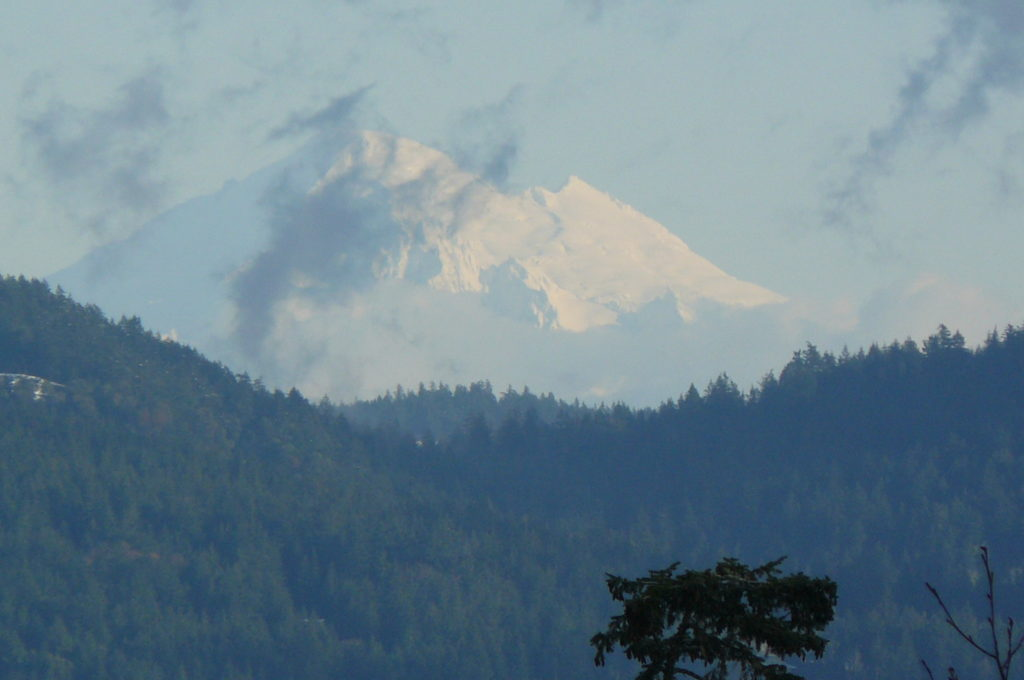Photo of Mt. Baker by SSH